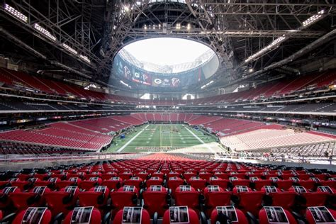 You may want to consider one of these options that are. Mercedes-Benz Stadium - Atlanta Falcons | Stadium Journey