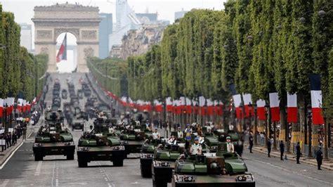 bastille day  france showcases european military