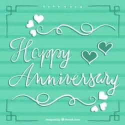 Happy Anniversary Green