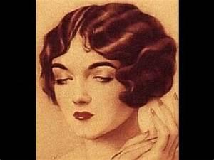 1920s-1930s Hair Tutorial for LONG HAIR - YouTube