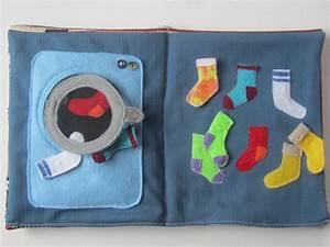 Waschmaschine Für Kinder : quietbook waschmaschine socken quietbook pinterest waschmaschinen spielb cher und n hen ~ Whattoseeinmadrid.com Haus und Dekorationen