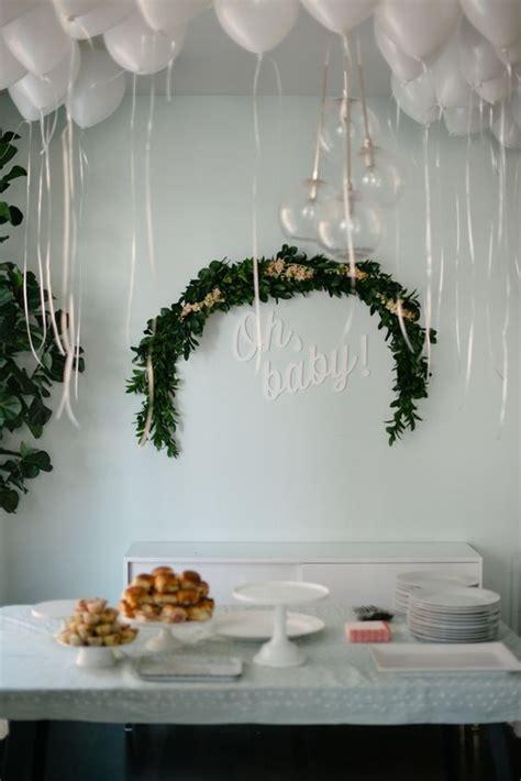 fresh greenery baby shower decor ideas shelterness