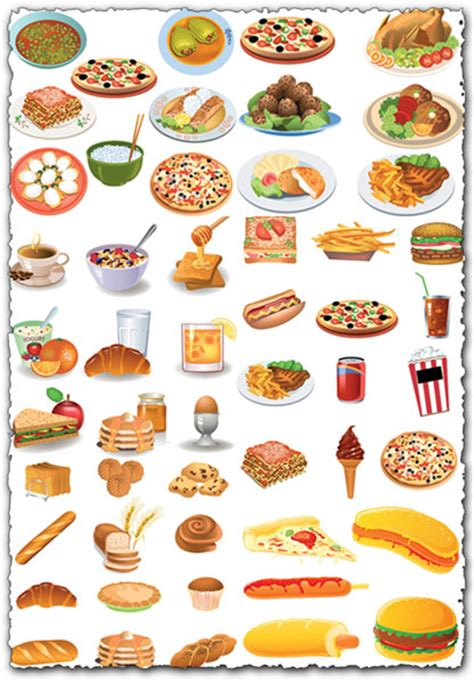 kind  food vectors