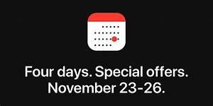 Four Encastrable Black Friday : apple holding 39 four days of special offers 39 event for ~ Melissatoandfro.com Idées de Décoration