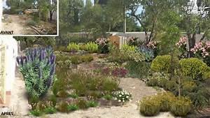 jardin mediterraneen monjardin materrassecom With comment realiser un jardin zen 10 amenager une plate bande mediterraneenne monjardin