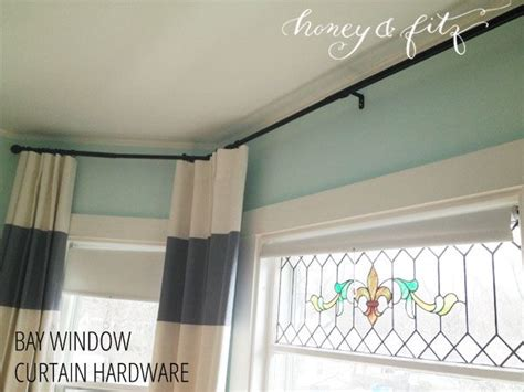 Drapery Hardware For Bay Window by Bay Window Curtain Hardware Options For The Home Bay