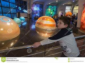 Interactive Mock Of Solar System In The Museum Urania ...