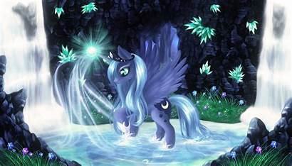 Luna Princess Mlp Wallpapers Pond Fanart Pony