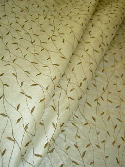 Silk Fabric Leaf Floral Discount Fabrics Remnants