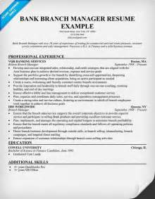 Resume Templates For Project Managers Bank Branch Manager Resume Resume Sles Across All Industries Resume Exles