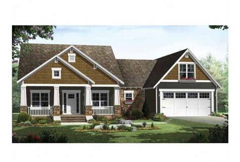 craftsman style single story house plans pinterest