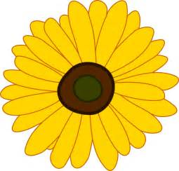 Free Clip Art Flowers Sunflowers