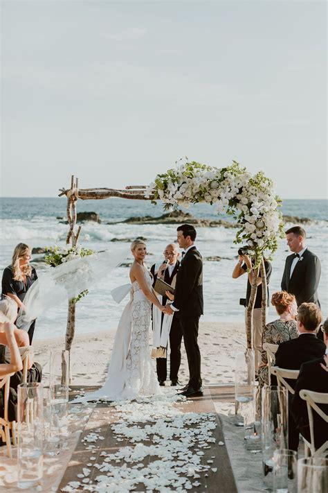 black tie beach wedding  esperanza  cabo san lucas