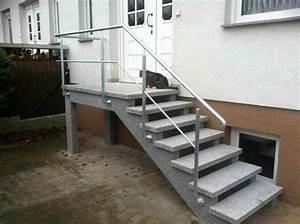 Treppen Im Außenbereich Vorschriften : au entreppen aus granit oder waschbeton ~ Eleganceandgraceweddings.com Haus und Dekorationen