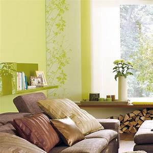 Wohnen In Grün : gr n herausgeputzt sch ner wohnen farbe ~ Michelbontemps.com Haus und Dekorationen