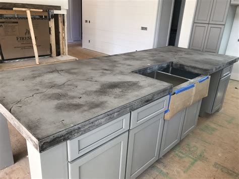 fireplace mantle concrete countertops carolina custom countertops