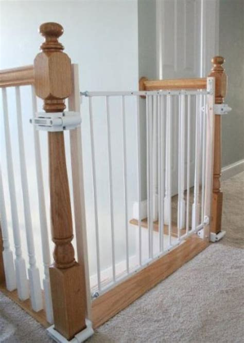 Baby Gate For Stairs With Banister And Wall by Small Baby Gates For Stairs With No Walls Home Inspiring