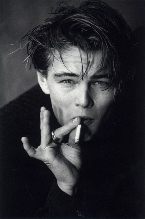 Young Leonardo Dicaprio Being Suave Boysboys And More