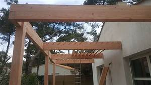 Construire Une Pergola En Bois : une pergola cr e sur mesure loire eco bois ~ Premium-room.com Idées de Décoration
