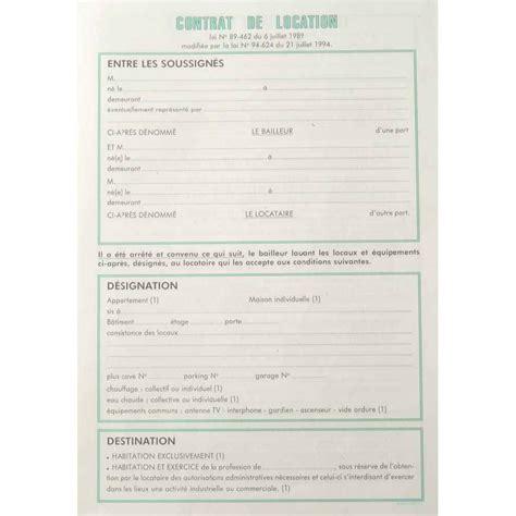 modèle contrat de location meublé contrat location saisonniere meuble conceptions de la