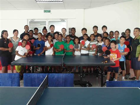 Fiji Junior Training Camp Ittfoceania