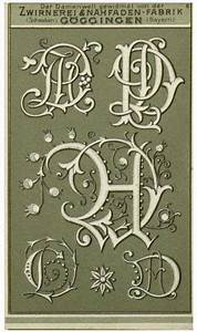 1000 images about fonts monograms on pinterest With vintage monogram letters