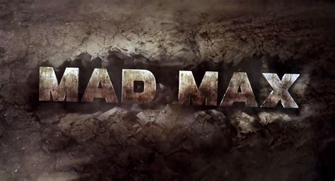 cool mad max logo game wallpapers hd desktop  mobile
