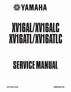 Wiring Diagrams And Free Manual Ebooks  Yamaha Xv16al