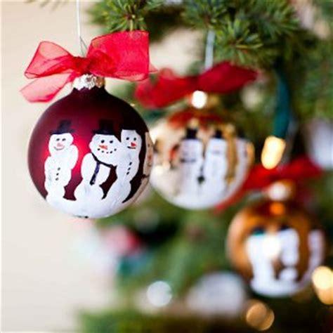 crafts for 18 ornaments 652 | Five Finger Snowman Ornaments