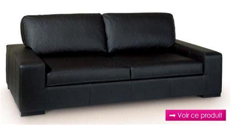 canape en cuir noir photos canapé en cuir noir
