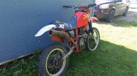 xr500 honda brick7 motorcycle