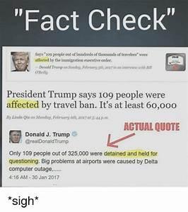 Fact Check Says... Fact Check Quotes