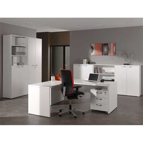 ensemble bureau ensemble de bureau contemporain blanc