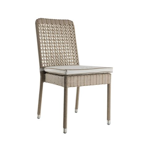 antibes outdoor resin chair with cushion