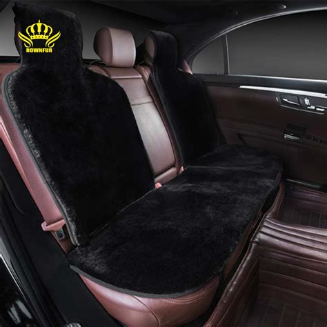 For Back Seat, Faux Fur Car Seat Cover,universal Size For