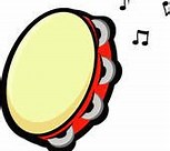 Image result for Free Clip Art of Tambourine