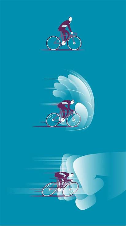 Behance Graphic Illustration Speed Vector Resistance Motion