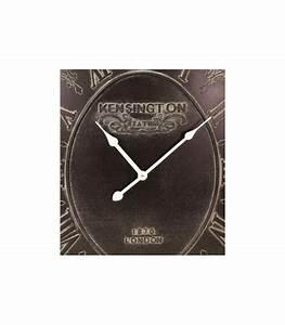 Horloge Murale Grise : horloges l 39 ancienne horloges de gare de bistrot ~ Teatrodelosmanantiales.com Idées de Décoration