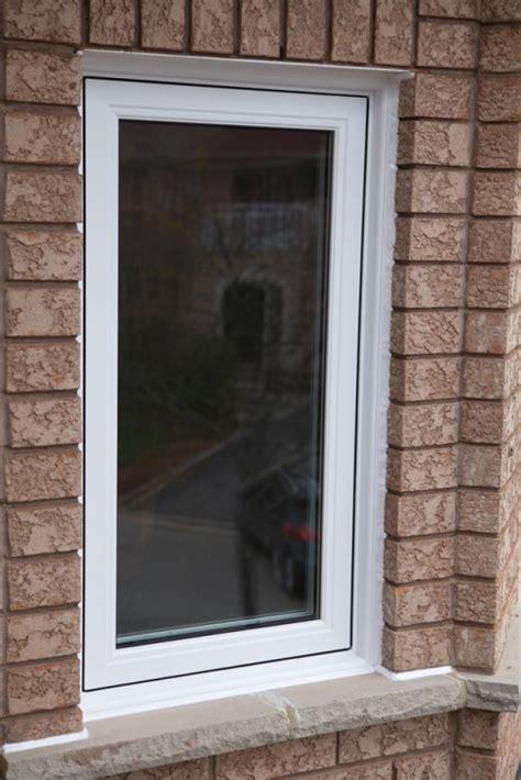 window installation finishing touches vinyl trim aluminum capping brickmold north view canada