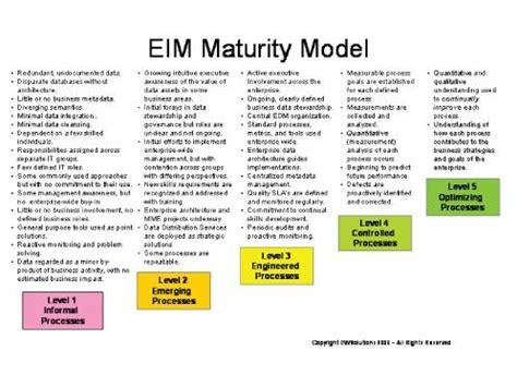enterprise information management maturity data governances role enterprise information