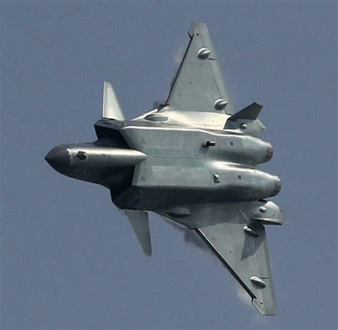 China's New J-20 Stealth Fighter Makes Its Public Debut