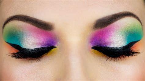 colorful makeup colorful arab makeup