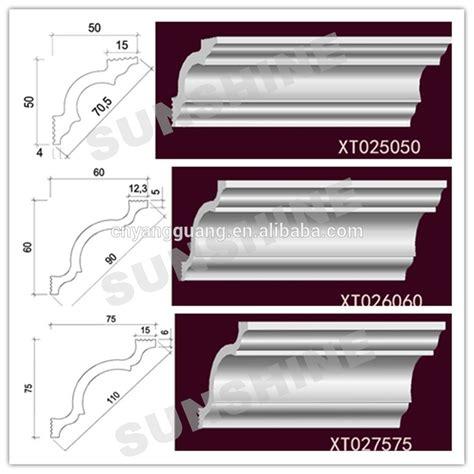 mousse plastique polystyr 232 ne corniche pour plafond et mur moulures id de produit 60431807440