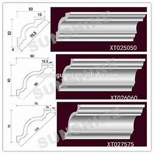 Corniche Polystyrène Pour Plafond : mousse plastique polystyr ne corniche pour plafond et mur ~ Premium-room.com Idées de Décoration