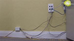 How To Hide Wiring Cable Ethernet Telephone Wires