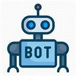 Bot Icon Customer Robot Support Icons Rpa