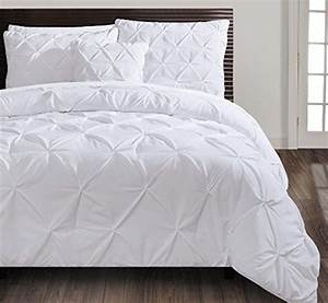 Vcny, Home, Carmen, Pintuck, 4, Piece, Bedding, Comforter, Set