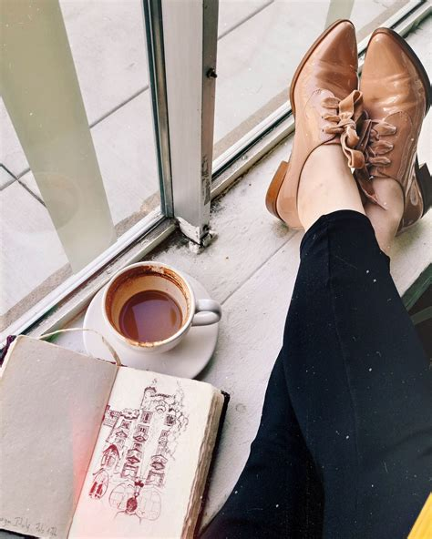 We are a coffee shop, gift shop and arts & craft shop in. Coffee shop aesthetic, louise et cie shoes, sketchbook drawings, coffeedrinkers #shoes #fashion ...