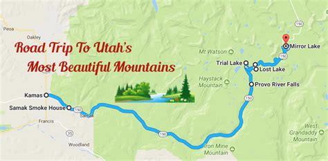 utah road trip   mirror lake scenic byway