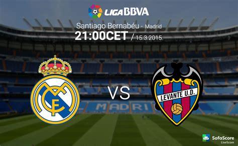 دانلود بازی رئال مادرید لوانته هفته 27 لالیگا 2014/15